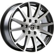 TN1F black matt polished