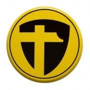 Tomason Nabenkappe Schwarz auf Gelb