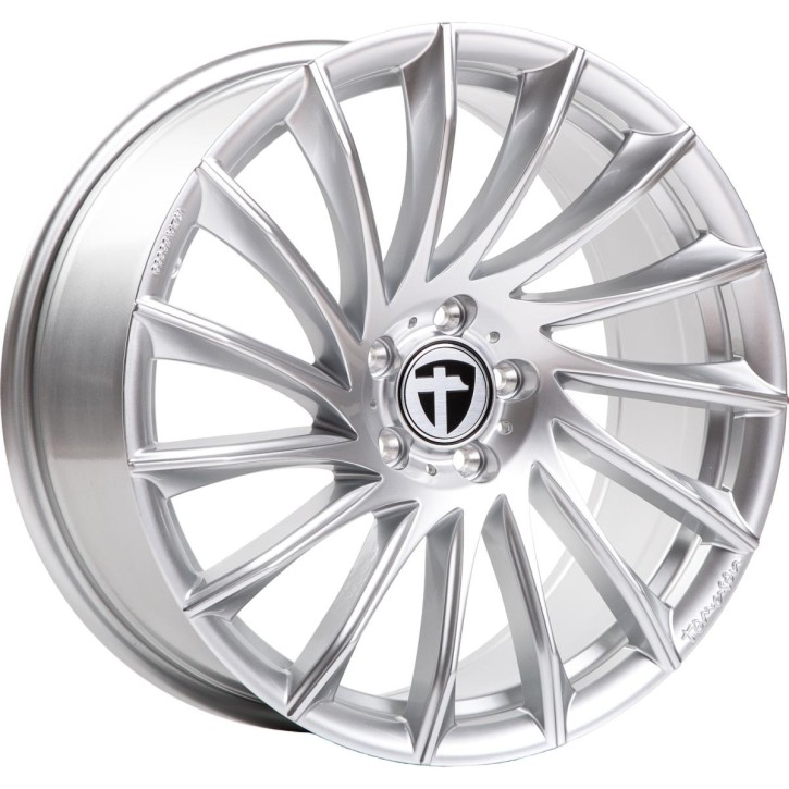"Tomason TN16 8,5x19"" 5x114,3 ET40 Ø72,6 Bright silver - Winterfest"