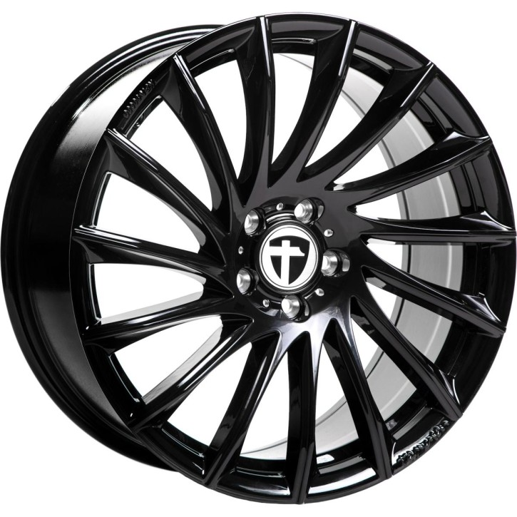"Tomason TN16 8,5x19"" 5x112 ET45 Ø72,6 Black painted - Winterfest"