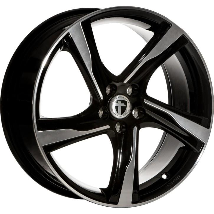 "Tomason RL2 8,0x18"" 5x108 ET50 Ø63,4 Black polished"