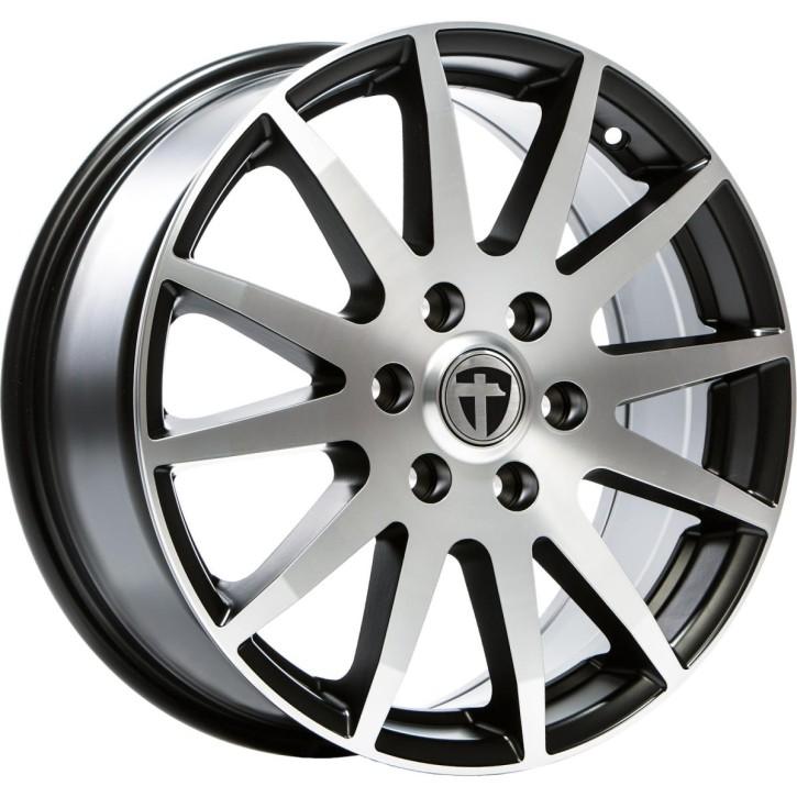 """Tomason TN1F 7,5x18"""" 5x118 ET60 Ø71,1 Black matt polished"""
