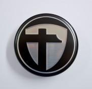 Tomason Nabenkappe Ø70 mm - schwarz