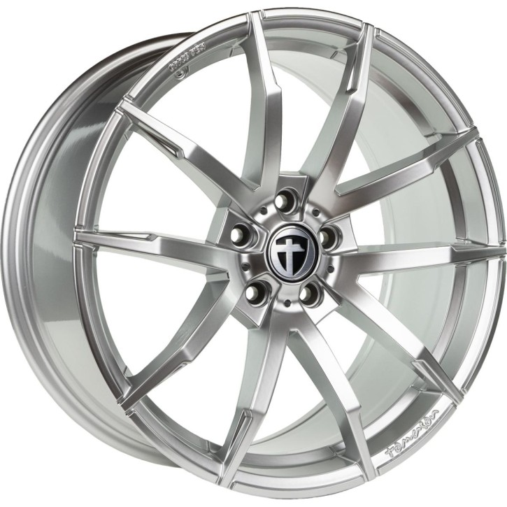 "Tomason TN10 8,5x19"" 5x108 ET40 Ø72,6 High gloss silver"
