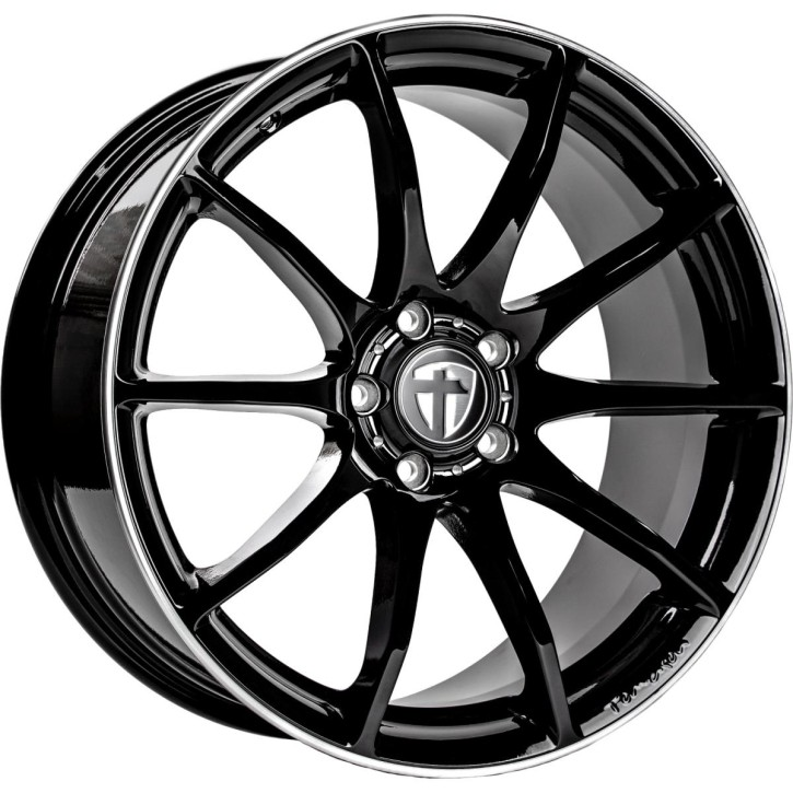 "Tomason TN1 8,5x19"" 5x120 ET35 Ø72,6 Black rim polished"