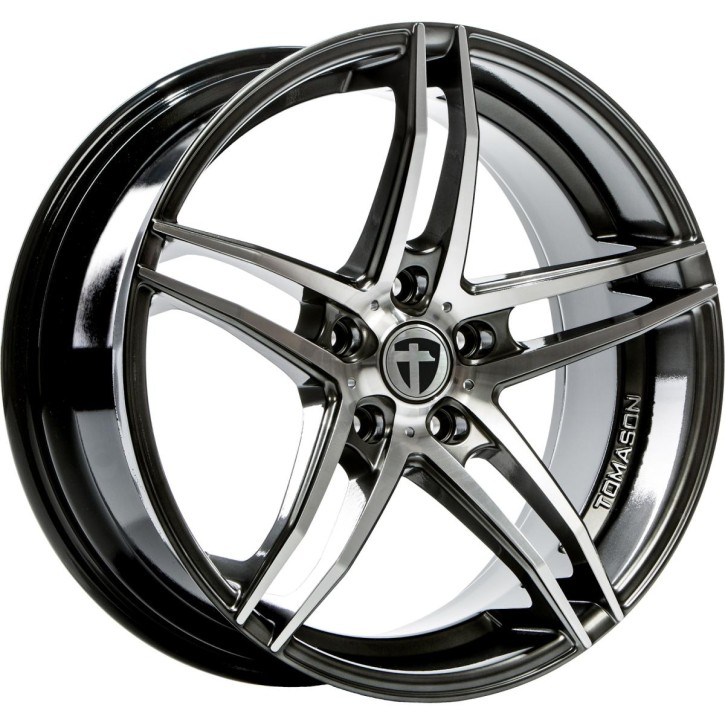 "Tomason TN12 8,5x19"" 5x112 ET30 Ø72,6 Dark hyperblack polished"