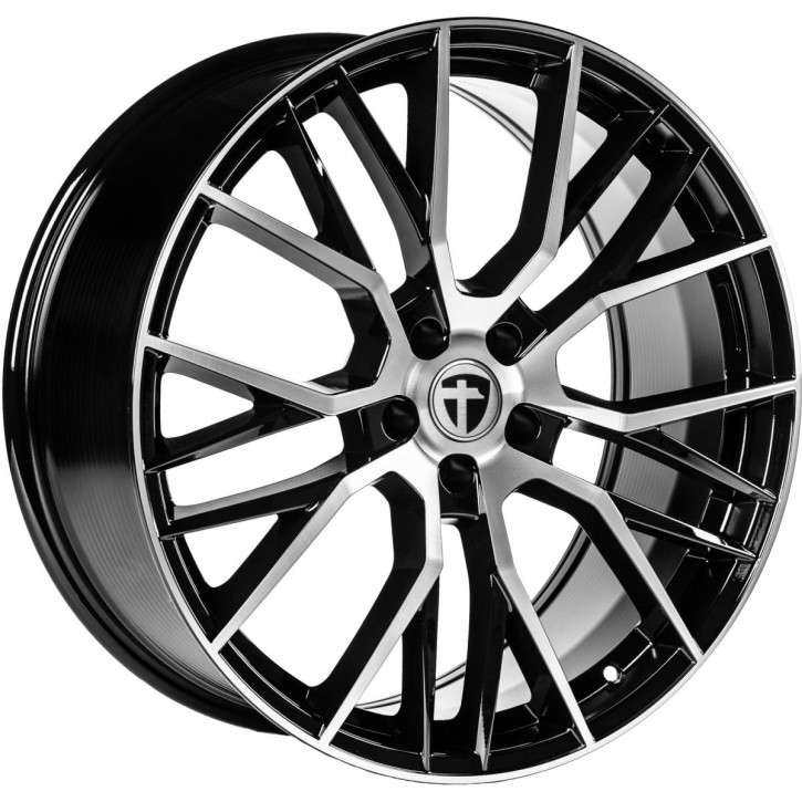 "Tomason TN23 8,5x20"" 5x112 ET25 Ø66,6 Black diamond polished"
