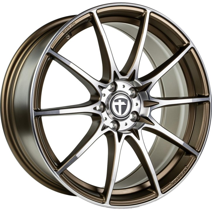 "Tomason TN25 Super Light 8,5x19"" 5x114,3 ET45 Ø72,6 Mattbronze polished"