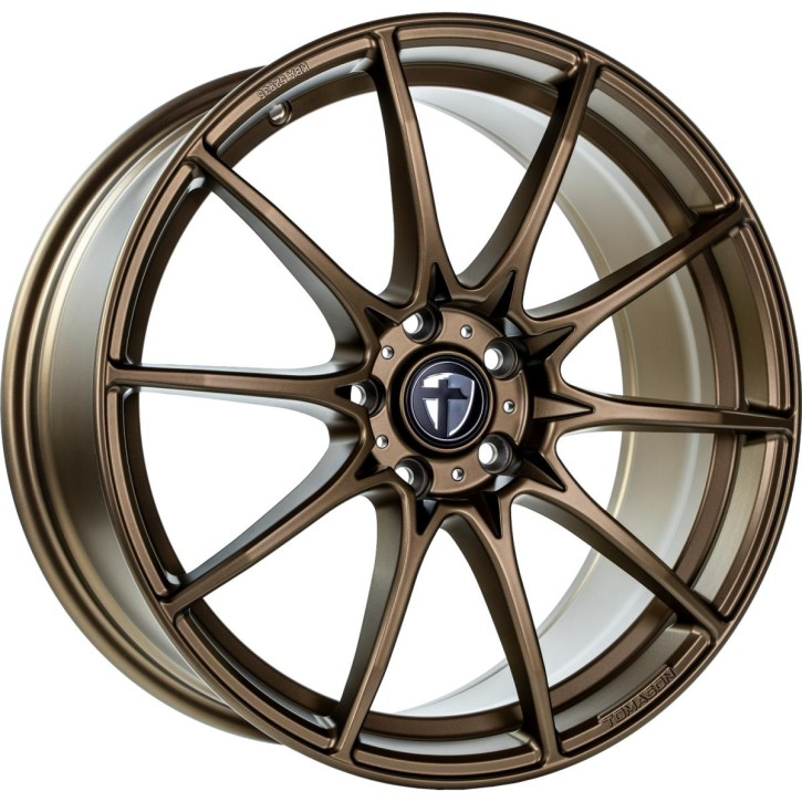 "Tomason TN25 Super Light 8,5x19"" 5x112 ET45 Ø72,6 Mattbronze"