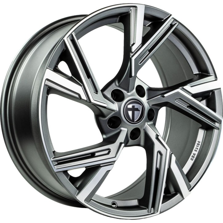 "Tomason AR1 9,0x20"" 5x112 ET25 Ø66,6 Anthracite diamond polished"