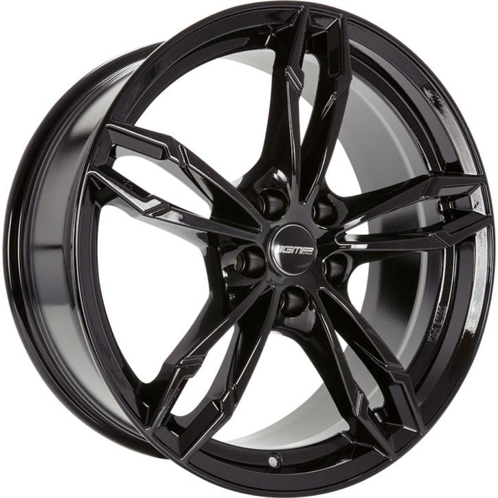 """GMP Italia DEA 8,0x18"""" 5x120 ET30 Ø72,6 Glossy black"""