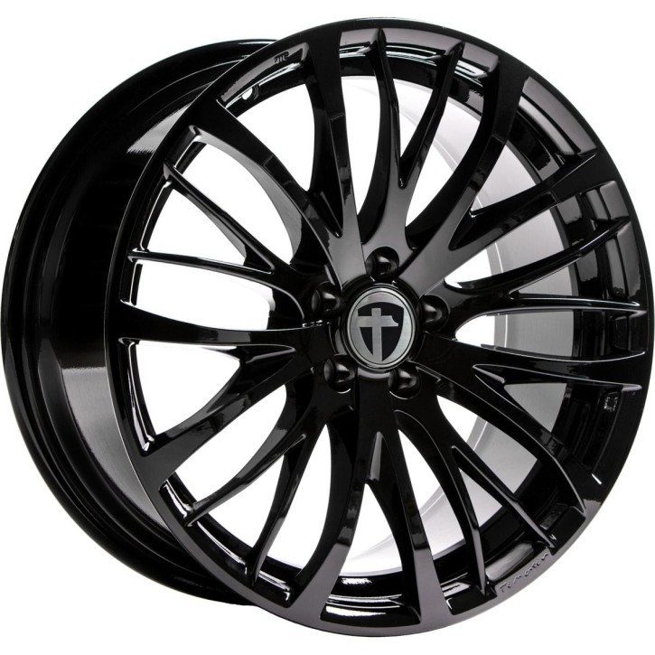"Tomason TN7 8,5x19"" 5x108 ET40 Ø72,6 Black painted - Winterfest"