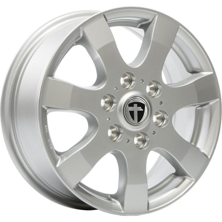 "Tomason TN3F 6,5x16"" 5x120 ET50 Ø65,1 Silver painted - Winterfest"