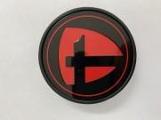 Tomason Nabenkappe rot-schwarz (nur TN25)